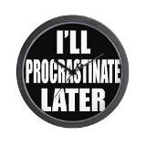 Procrastination Clock